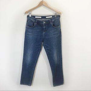 Anthropologie Boyfriend Mid-Rise Jeans Sz 28